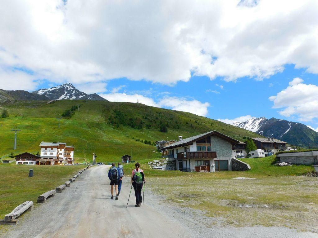 Trekking in Valchiavenna: arrivo all'Alpe Motta