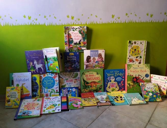 Libri per bambini in inglese: usborne